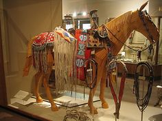 Horse Covering, Nez Perce Museum, Spalding, Idaho Find more at www.visitnorthcentralidaho.org