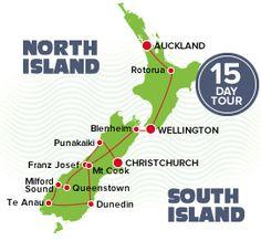 15 day NZ tour