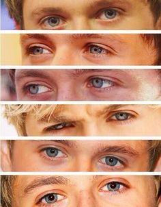 Niall's eyes(:
