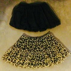 TUTU style Skirt Bundle   Size ~ 6 Girls BUNDLE OF SKIRTS   TUTU Style Girls Skirt Girls Black Squirt & Leopard 🐆 Squirt   1.)📍📐Size ~ 5📌📌☝ But fits like a Girls  📐📌📌Size ~ 6   🎨Leopard🐆   2.)📍📐Size ~ 6   🎨Black   They are in excellent NEW condition my girl did not like skirts so she would not wear them😿🎈🎊🎈🎊🎈🎊 🎉🎉They are super adorable! 🎀➿🎀➿🎀➿☄☄☄ Bottoms Skirts