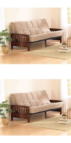 Futons Frames And Covers 131579: Futon Sofa Bed Modern Big Couch Bed Home  Furniture Convertible Sleeper Black New  U003e BUY IT NOW ONLY: $209.5 On EBau2026 Part 61