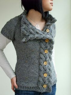 I'm loving chunky short-sleeved knits.  track down this pattern :)