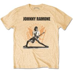 6b1b4b5dbf6e Ramones Men s Tee  Johnny Ramone Rockin n Seal Wholesale Ref JRATS02MVG  Ramones