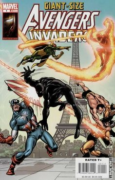 Giant Size Avengers Invaders #1