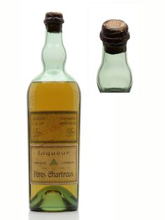 Chartreuse Yellow Liqueur / Tarragona / Bot.1930s  A rare old litre bottling of Charteuse Yellow Liqueuer produced at the Tarragona distillery in Spain. We estimate this was bottled in the 1930s, the decade where the monks were allowed to return to France for the first time since their exile in 1903, although they kept producing at Tarragona until 1989.