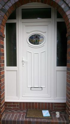 Image result for upvc front doors and side panels | front door ...