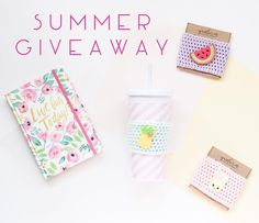 miskunn  SUMMER G I V E A W A Y TIME  . Summer is coming and you know what that means?! Your drinks HAVE to be cute! So here's the deal @yarnlovin and I have teamed up to make sure you have the prettiest iced coffees around this summer!  . One lucky winner will get these three sweet cozies : One watermelon one pineapple and one lemonade  . So how do you enter to win?! Easy peasy lemon squeezy  .  Like this photo  Follow @miskunn and @yarnlovin  Tag two sidekicks!  . That's it! The winner…
