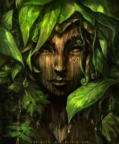 Robyn, make out of stain glass.  Forest Dryad........Calm by *aditya777  ~~~~  Thanks baby, I'll give it a go.