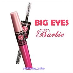 New Maybelline Big Eyes Barbie Two-Way Waterproof Mascara Eyelashes #Black  #MaybellineNewYork