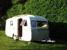 Location caravane de collection Notin au camping de Ste Sévère