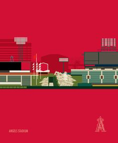A collection of MLB stadiums for print, licensed by MLB for RareInk.