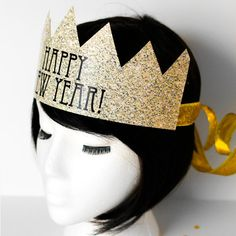 Instant Download DIY New Years Eve Crowns by CreativeUnionDesign