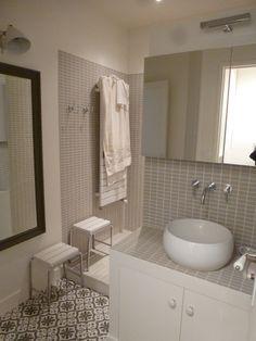Salle de bain on pinterest appliques modern bathrooms and loft - Toute petite salle de bain ...