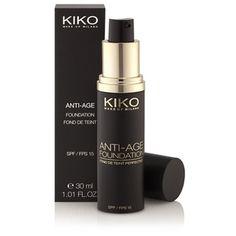Kiko Make Up Milano - Anti-Age Foundation Fond de teint crème perfecteur Foundation, Kiko Milano, Makeup Designs, Party Bags, Professional Makeup, Face And Body, Creme, Anti Aging, Beauty Makeup