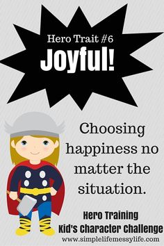Week six is a fun one, because it is all about JOY! You know it'll be a good time when you spend a week focusing on being joyful! If you haven't read the introduction to the series yet, check it outhere(it has all the instructions and info you'll need). Get past weeks here:week one (helpful),week …