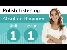 Polish Listening Practice - YouTube (playlist) - from PolishPod.com