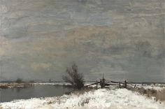 Winter by the Thurne, Edward Seago. English (1910 - 1974)