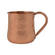 GoCraft Hammered Copper Beer Mug Hammered Copper, Concave, Moscow Mule Mugs, Beer, Tableware, Design, Root Beer, Ale, Dinnerware
