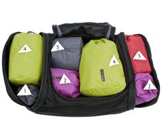 A good packing system that enables you to pack everything you need into one carry on!