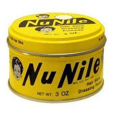 Nu Nile Hair Slick - Murray's Cire capillaire pour travailler les cheveux au style plaqué, vintage et avec effet mouillé.