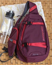 Patagonia bags hold your water bottle, yoga mat and socks Patagonia Bags, Earth Shoes, Special Deals, Best Yoga, North Face Backpack, Sling Backpack, Water Bottle, Socks, Backpacks