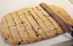 Itsy Bits and Pieces: A Simple Project...and Biscotti... Gluten-free chocolate chip biscotti