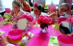 Spa Party Birthday Party Ideas   Photo 15 of 37   Catch My Party