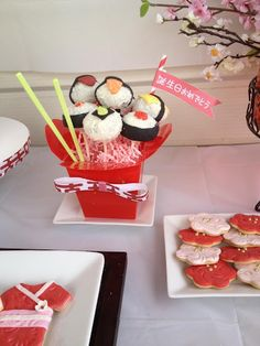 Kokeshi Doll Japanese theme Birthday Party