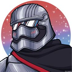 Captain Phasma by iscawen