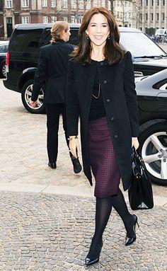 konprinsenfrederik:  Crown Princess Mary, March 6, 2015