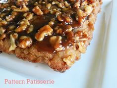 Upside Down Maple Syrup Cake with Walnuts for Maine Maple Sunday - recipe link.