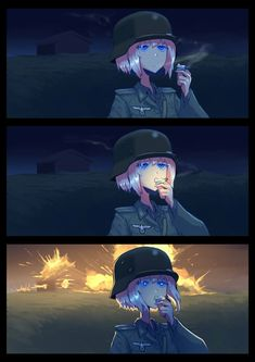 Pretty Anime Girl, Cool Anime Girl, Anime Art Girl, Anime Military, Military Girl, Guerra Anime, Character Art, Character Design, Military Drawings
