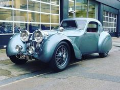 The one off 1938 Jaguar SS100 FHC