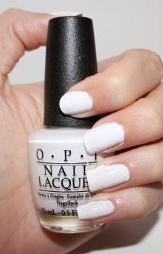OPI Angel with a Leadfoot Ford Mustang Collection Swatch