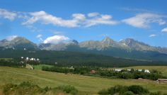Tatra mountains and hike up to the church at Levoca