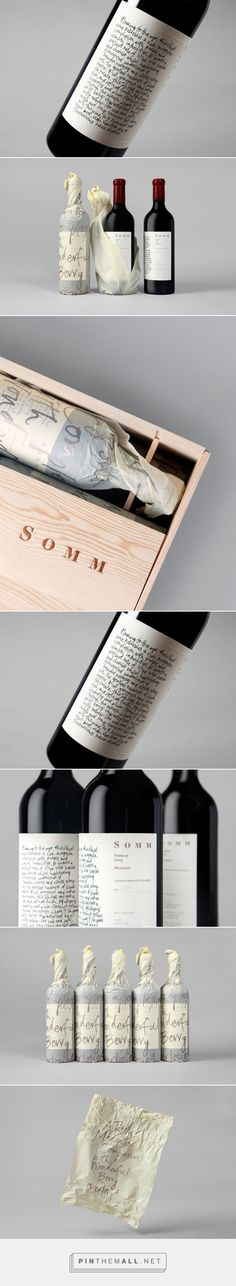 New Packaging for Niche Wine Company's Somm by Frost — BP&O - created via https://pinthemall.net