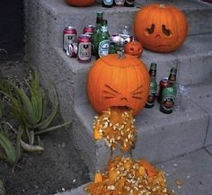 Yo! We don't want to see you out here looking like the pumpkin in this pic tomorrow nite. #lmao #halloween