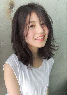 Pin on Hair Beautiful Japanese Girl, Japanese Beauty, Asian Beauty, Asian Short Hair, Girl Short Hair, Asian Hair Medium Length, Japanese Short Hair, Ulzzang Short Hair, Kawai Japan