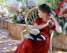 Maler Vladimir Volegov. Bilder für Serviettentechnik / Artikel
