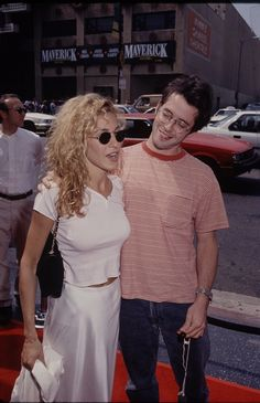 Sarah Jessica Parker and Matthew Broderick in January 1998