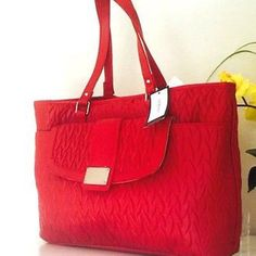 Nine West Large Textured Tote Brand New. Never Used. Perfect Condition. No Trades. Nine West Bags Totes