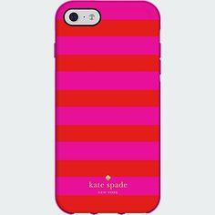 kate spade new york Flexible Hardshell Case for iPhone 6 Plus - Candy Stripe   Verizon Wireless