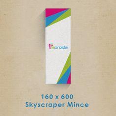 Création  bandeaux publicitaires 160x600px