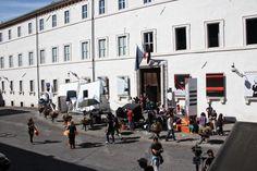 Don Matteo in Piazza Collicola a Spoleto