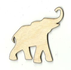Wooden Pieces 71178: Elephant - Unfinished Laser Cut Out Wood Shape Craft Supply Ele1 -> BUY IT NOW ONLY: $63 on eBay!