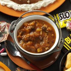 Pumpkin Turkey Chili Recipe -I love pumpkin and my husband loves chili. This is a dish that I have been able to combine both loves and we both be happy about it. It has also become a big hit with the rest of my family and they are constantly requesting it. —Catherine Walmsley, Phoenix, Arizona