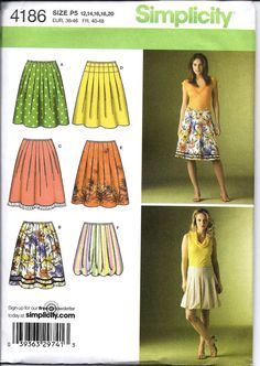Misses Pleated Skirts with Variations by DawnsDesignBoutique, $6.00