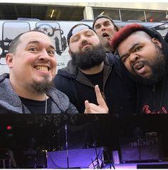 ANY METAL FANS IN ATLANTA TONIGHT? Our buddy @phellers1281 and his band @yearofthelocust will be at @masquerade_atl with @saliva!  Are YOU READY ATLANTA?  It pops off TONIGHT at Masquerade Heaven at 7PM!!! #youarethechosentour #yotl #yotl2016 #yearofthelocust #devolver #hardrock #rock #metal #alternative #grunge #music #musicislife  #rockmusic #SpectorArtistsRock #spectorbass
