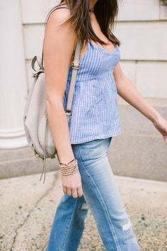 My Fav Way To Wear Flares With Flats This Summer - The Mom Edit