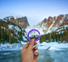 Taking it all in with the new limited-edition purple lokai.